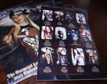 2013 Barmetal Calendar