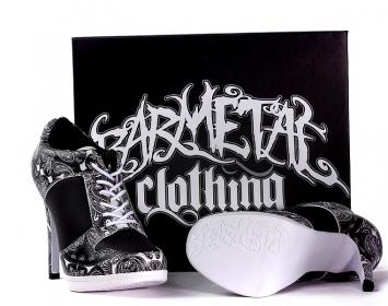 Barmetal Sneaker High Heels