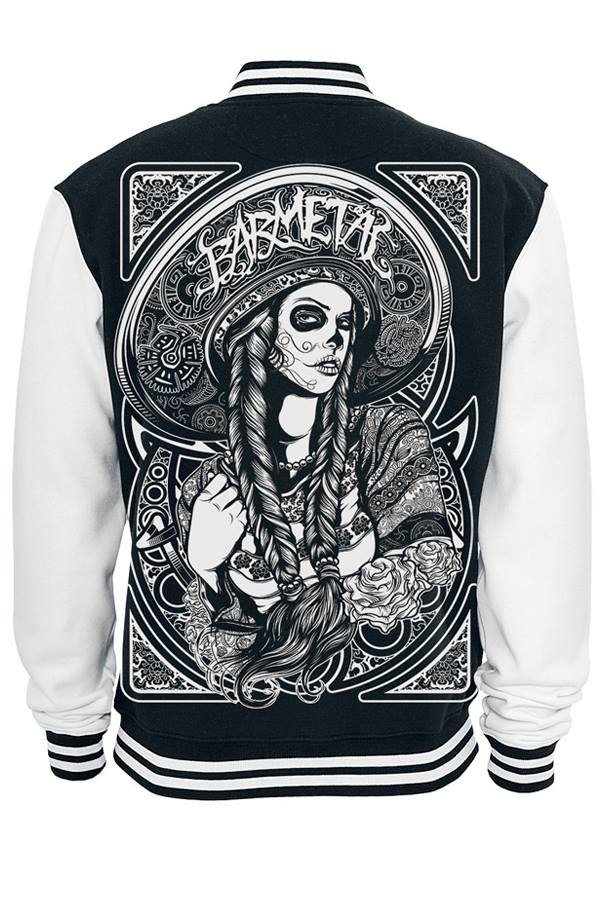 Barmetal College Jacke Mexican Back