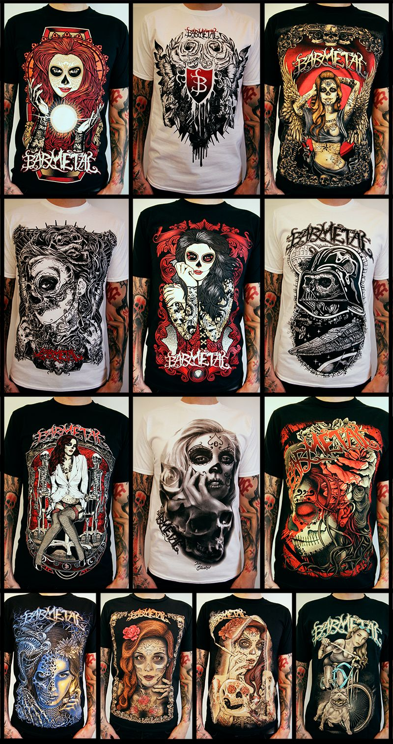 Barmetal Holy 13 Collection All Shirts medf