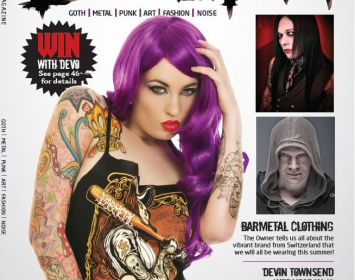 Barmetal goes Devolution Magazine