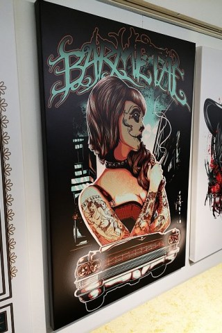 leinwand_canvas_night_visions_la_catrina