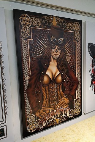 leinwand_canvas_steampunk_lady